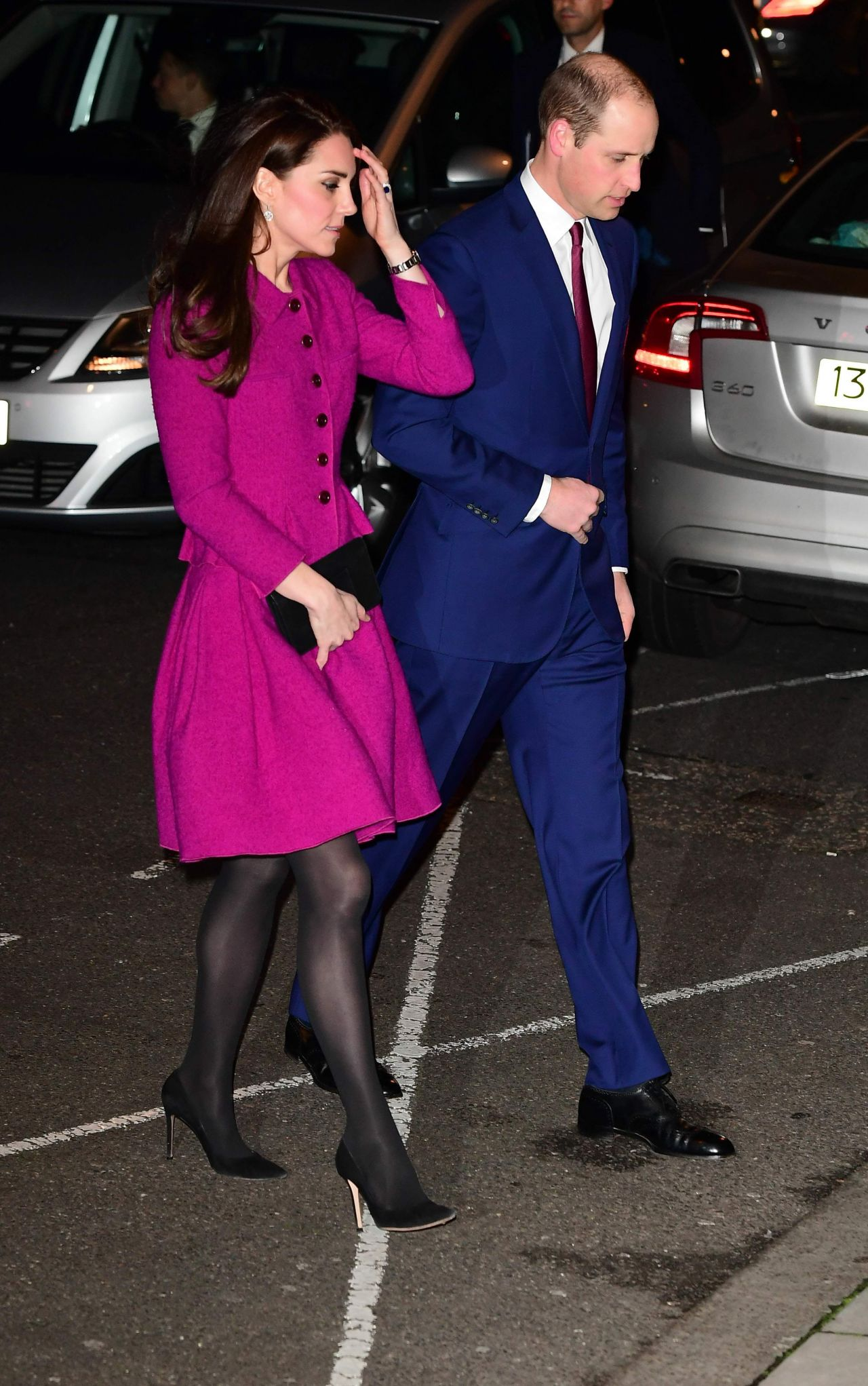 Kate Middleton Arriving At Chandos House In London 2 6 2017