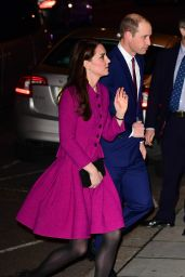 Kate Middleton - Arriving at Chandos House in London 2/6/ 2017