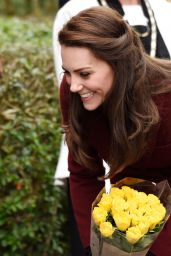 Kate Middleton Greets Fans in Wales 2/22/ 2017