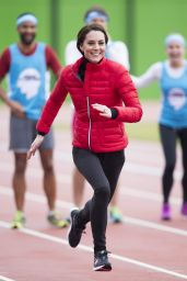 Kate Middleton - London Marathon Training Day in London, February 2017