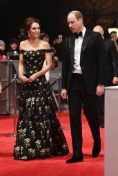 Kate Middleton on Red Carpet at BAFTA Awards in London, UK 2/12/ 2017