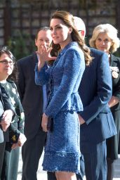 Kate Middleton Visits Ronald McDonald House Evelina London 2/28/ 2017