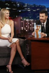 Kate Upton Appeared on Jimmy Kimmel Live 2/14/ 2017