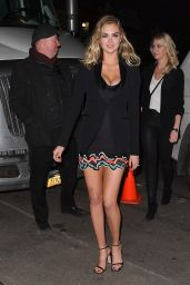 Kate Upton Arriving at SI 2017 Launch Event in NYC 2/16/ 2017