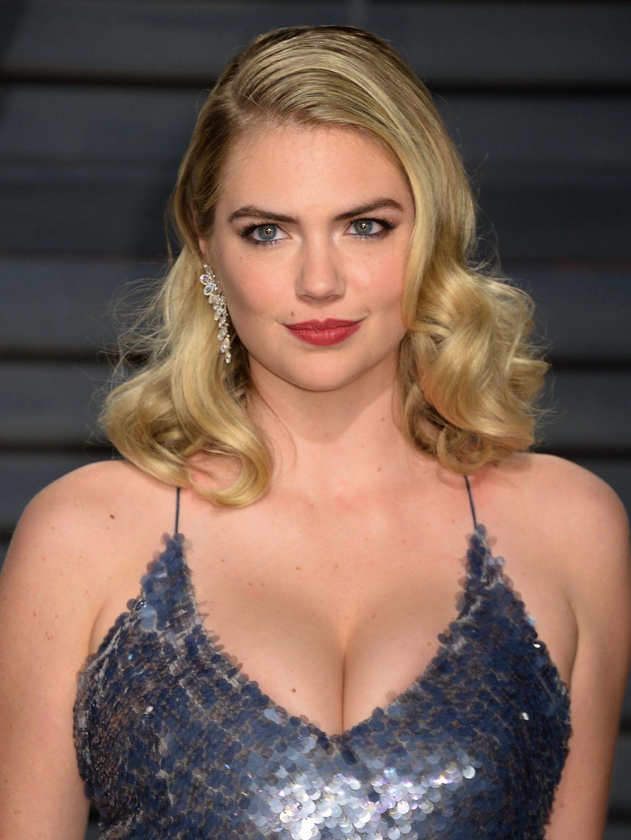 Kate Upton At Vanity Fair Oscar 2017 Party In Los Angeles
