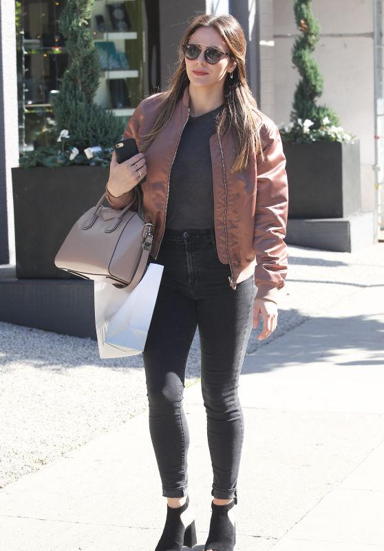 Katharine McPhee - Shopping at Intermix in Beverly Hills 2/22/ 2017