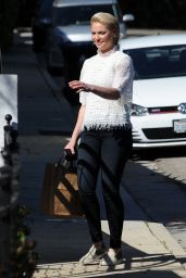 Katherine Heigl Casual Style - Shopping in Los Feliz 2/15/ 2017