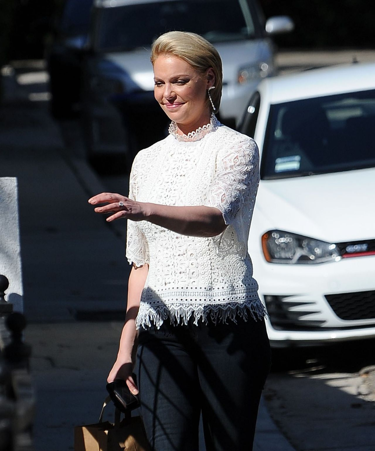 Katherine Heigl Casual Style - Shopping in Los Feliz 2/15 ...