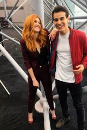 Katherine McNamara Photos – Social Media 2/19/ 2017