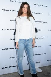 Katie Holmes - Club Monaco Fashion Presentation in New York 2/10/ 2017