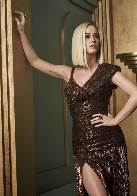 Katy Perry - 2017 Vanity Fair Oscar Party Portrait