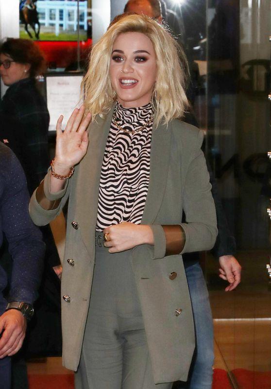 Katy Perry at BBC Radio Studios in London 2/21/ 2017