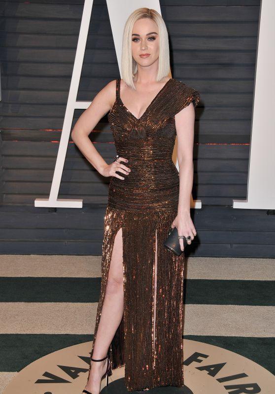 Katy Perry at Vanity Fair Oscar 2017 Party in Los Angeles