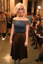 Katy Perry - Christopher Kane Fashion Show in London 2/20/ 2017