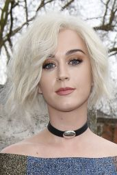 Katy Perry - Christopher Kane Show, Arrivals, London Fashion Week 2/20/ 2017