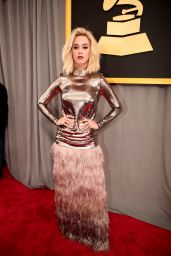 Katy Perry on Red Carpet – GRAMMY Awards in Los Angeles 2/12/ 2017