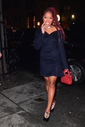 Keke Palmer - Arriving at Up and Down Nightclub in NYC 2/1/ 2017