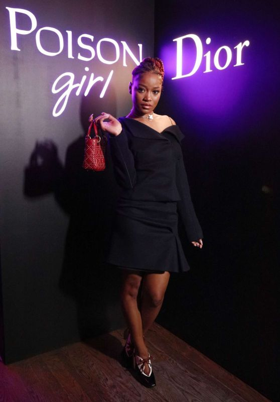 Keke Palmer – Dior Celebrates 'Poison Girl' in NYC 1/31/ 2017