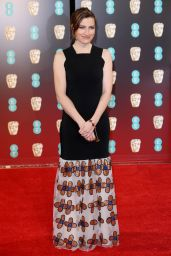 Kelly Macdonald on Red Carpet at BAFTA Awards in London, UK 2/12/ 2017