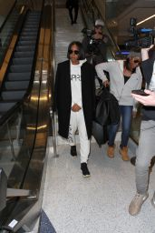 Kelly Rowland - LAX Airport in Los Angeles 2/1/ 2017