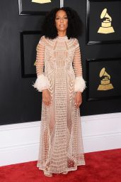 Kelly Rowland on Red Carpet – GRAMMY Awards in Los Angeles 2/12/ 2017