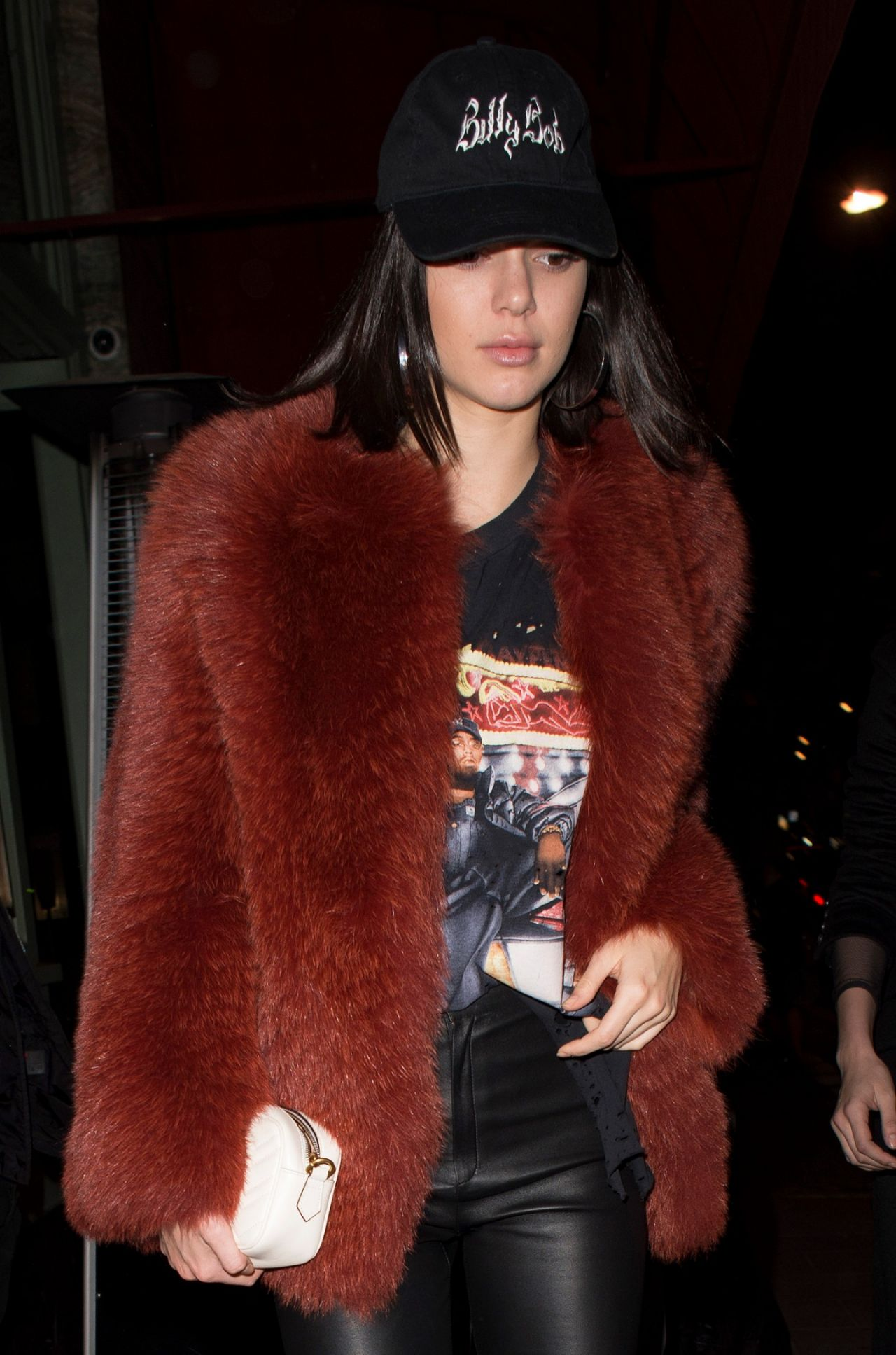 jenner - arriving at sexy fish asian restaurant in london 2/18/ 2017