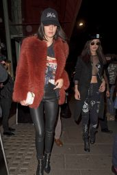 Kendall Jenner - Arriving at Sexy Fish Asian Restaurant in London 2/18/ 2017