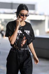 Kendall Jenner at Milan Fashion Week - Arrives at Versace Show 2/24/ 2017