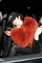 Kendall Jenner & Bella Hadid Give the Middle Finger - London 2/18/ 2017