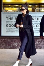 Kendall Jenner Casual Style - Out in New York City 2/13/ 2017