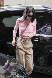 Kendall Jenner Chic Street Style - Steps out in Milan, Italy 2/23/ 2017
