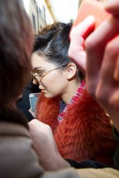 Kendall Jenner - Greeted by Fans Outside the 2017 Fall Bottega Veneta Show in Milan 2/25/ 2017