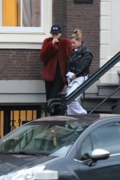 Kendall Jenner & Hailey Baldwin - Amsterdam 2/26/ 2017
