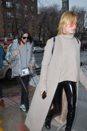 Kendall Jenner & Hailey Baldwin - Out For Lunch in New York City 2/12/ 2017
