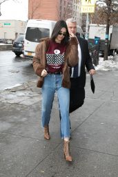 Kendall Jenner Urban Outfit - Out in New York City 02/11/ 2017