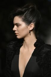 Kendall Jenner Walks Bottega Veneta Show in Milan 2/25/ 2017