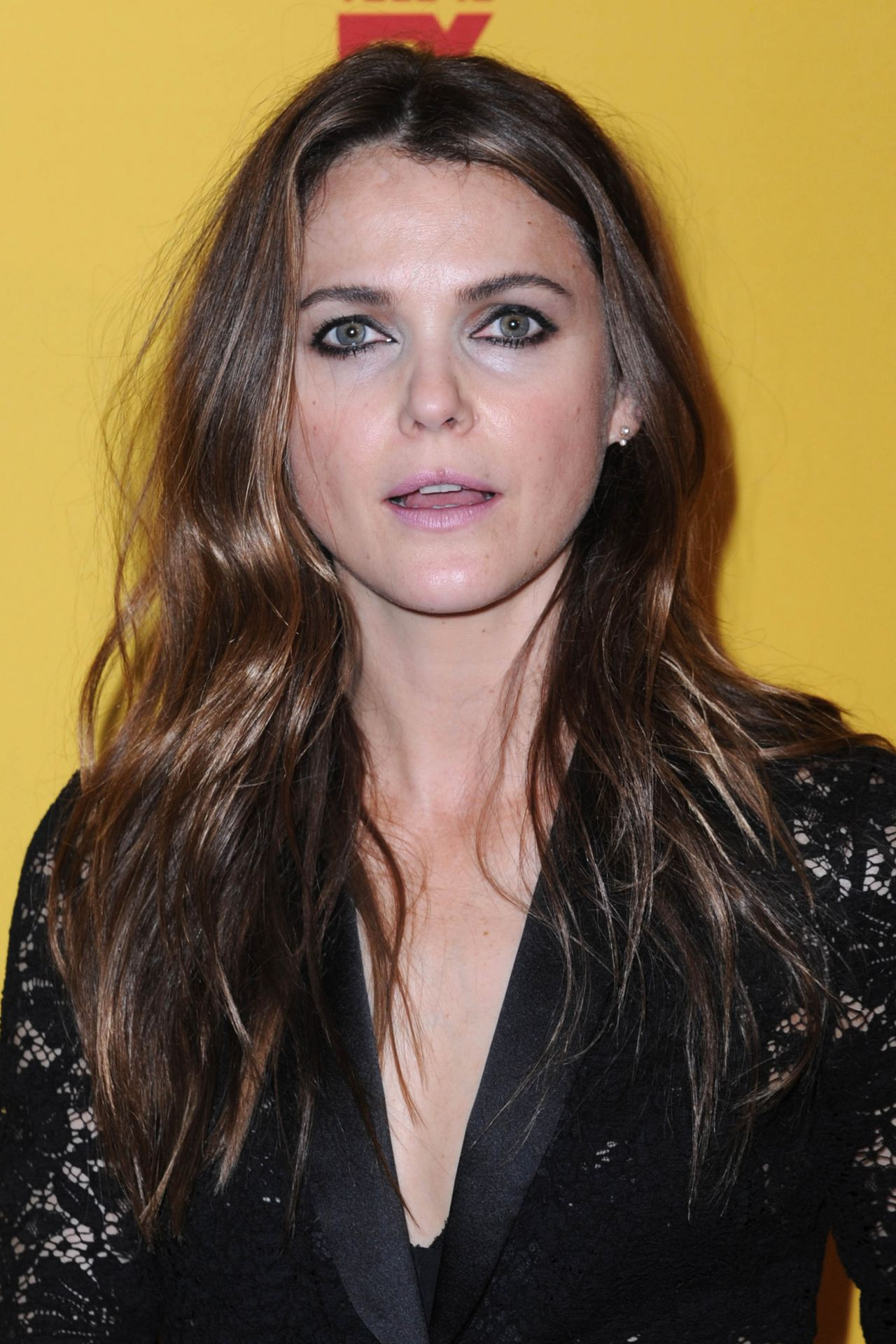 Keri Russell - The Americans Press Conference in NYC 2
