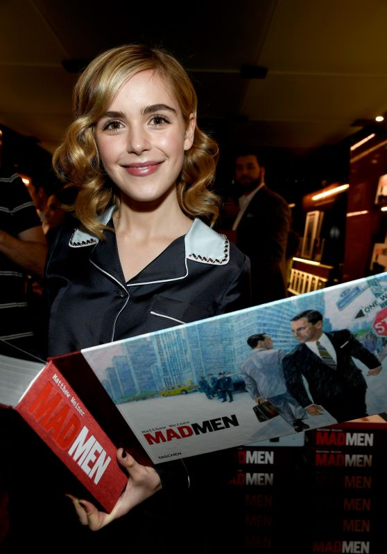 Kiernan Shipka - Launch for Matthew Weiner