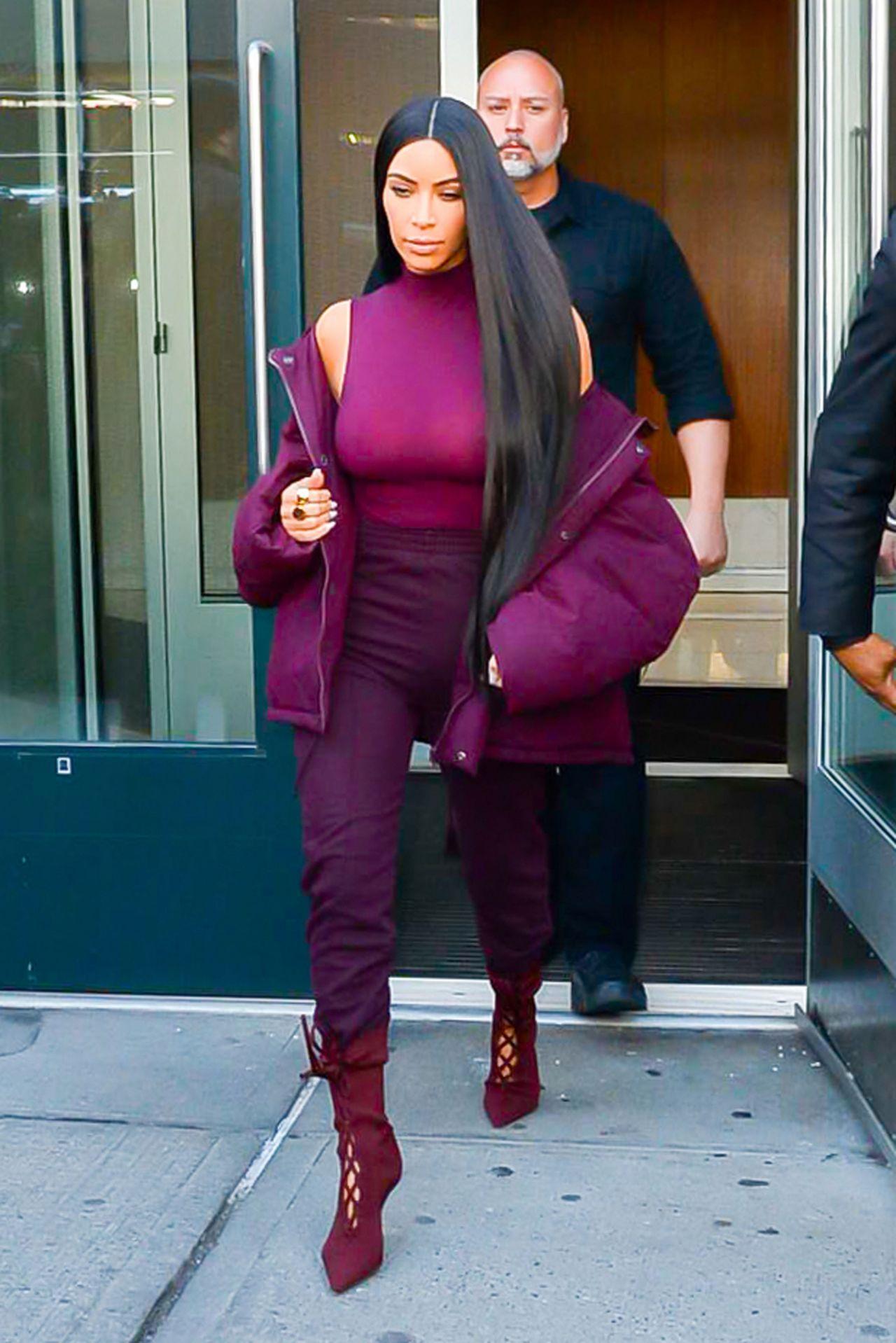 Kim Kardashian Style And Fashion Inspirations New York City 2 15 2017