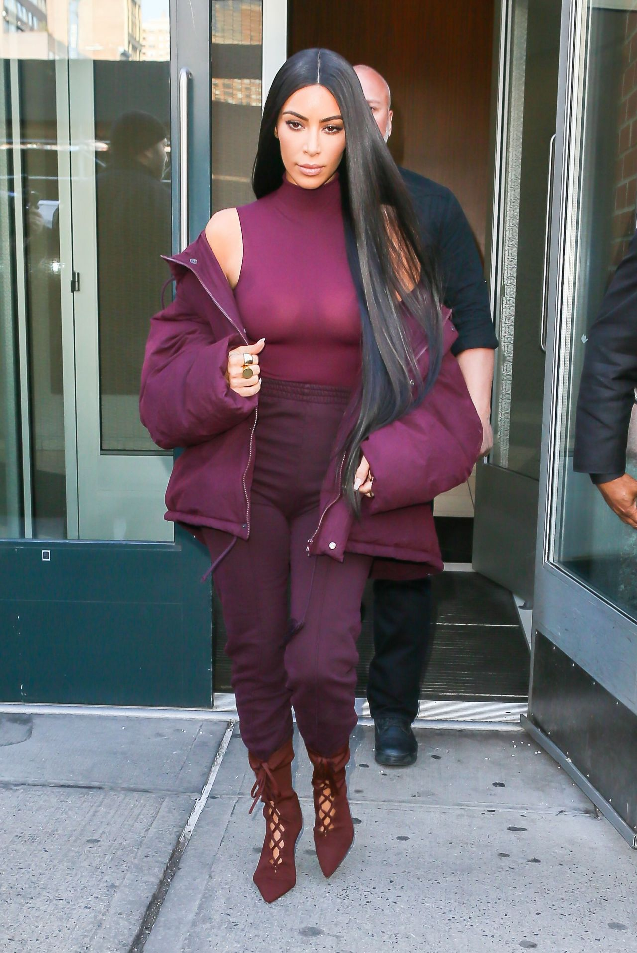 Kim kardashian style new york city - 2019 year