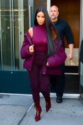 Kim Kardashian Style and Fashion Inspirations - New York City 2/15/ 2017