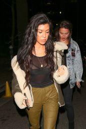 Kourtney Kardashian - Out in Los Angeles 2/22/ 2017