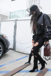 Kourtney Kardashian - Stops by Gagosian Gallery in Beverly Hills 2/2/ 2017