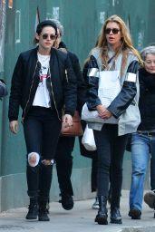 Kristen Stewart and Stella Maxwell - Shopping in New York 2/6/ 2017