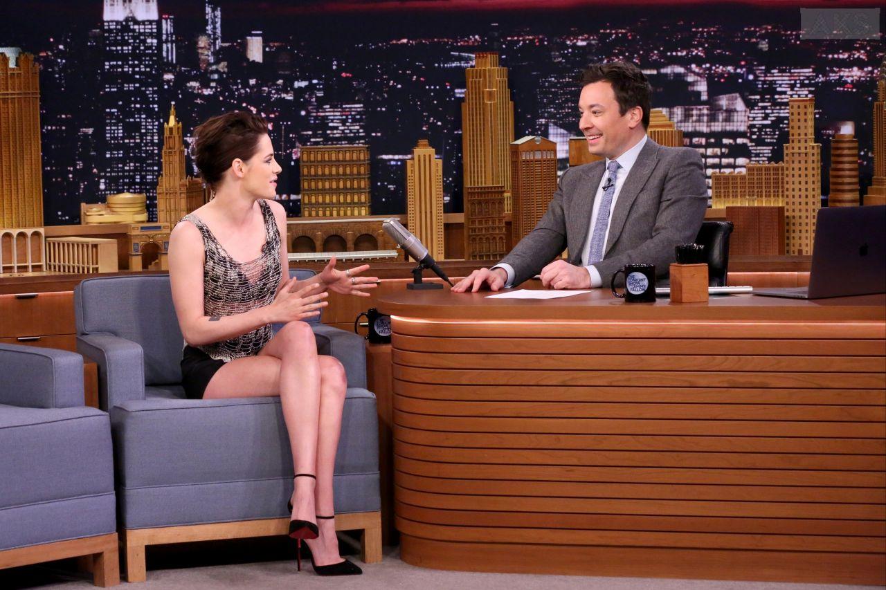 Kristen Stewart - The Tonight Show Starring Jimmy Fallon ...