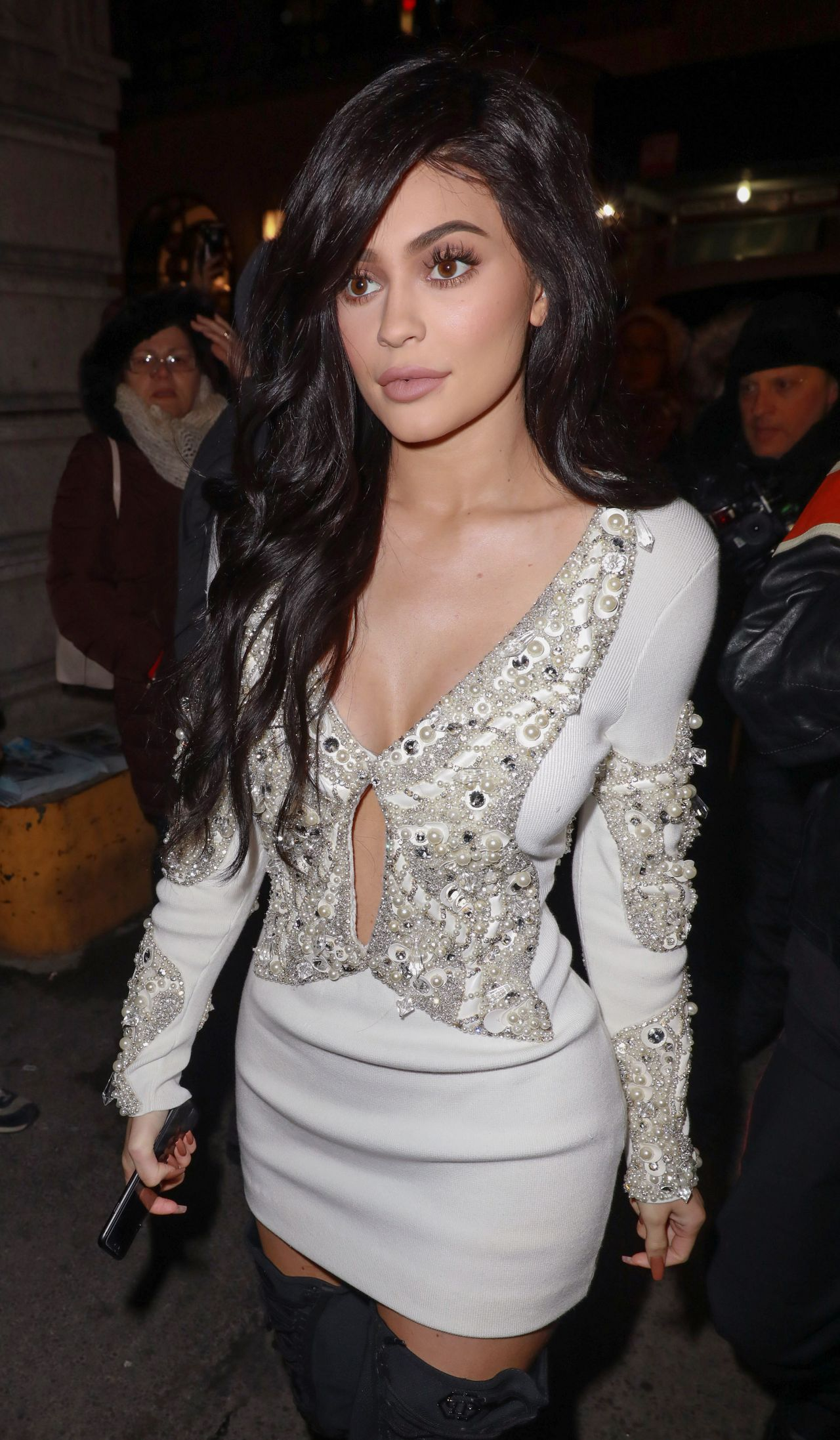 Kylie Jenner At The Philip Plein Fashion Show In New York