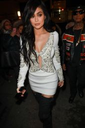 Kylie Jenner at the Philip Plein Fashion Show in New York 2/13/ 2017
