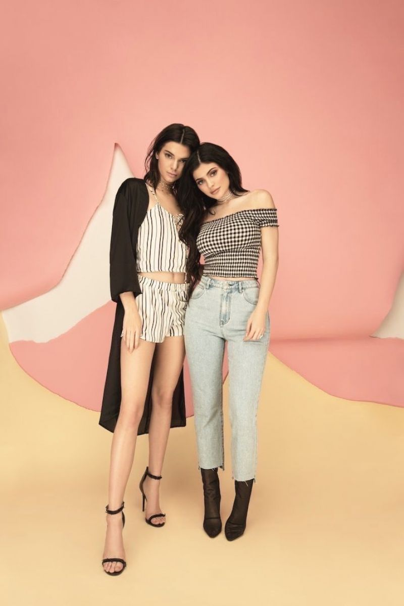 Kylie Jenner Pacsun Spring Collection 2017