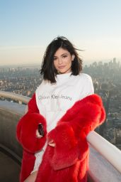 Kylie Jenner - Visiting the Empire State Building in NYC 2/14/ 2017