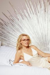 Kylie Minogue Launches Her glasses Range, December 2016